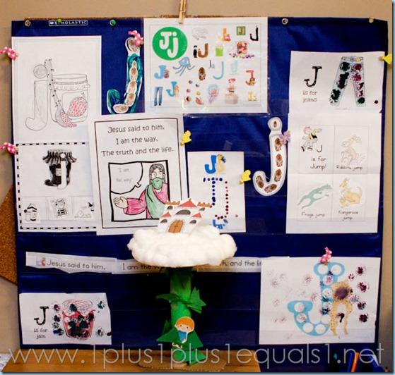 Home Preschool Letter Jj -5106