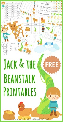 Jack and the Beanstalk Free Printables