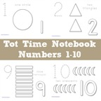 Tot Time Notebook Numbers