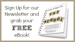 Where to Begin with Tot School eBook