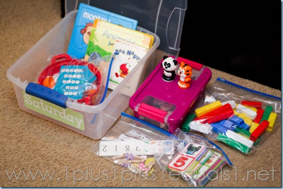 All By Myself Preschool Boxes -5653