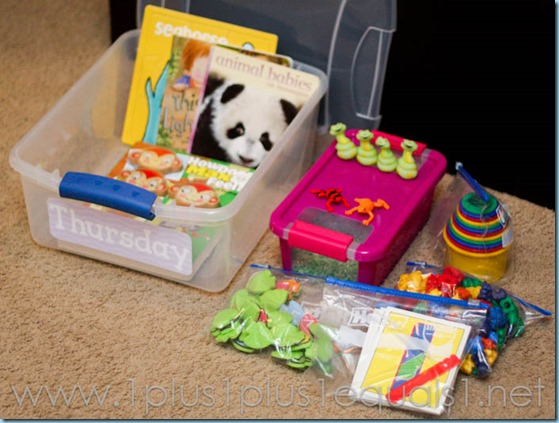 All By Myself Preschool Boxes -5658