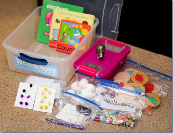 All By Myself Preschool Boxes -5660