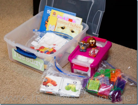 All By Myself Preschool Boxes -5665