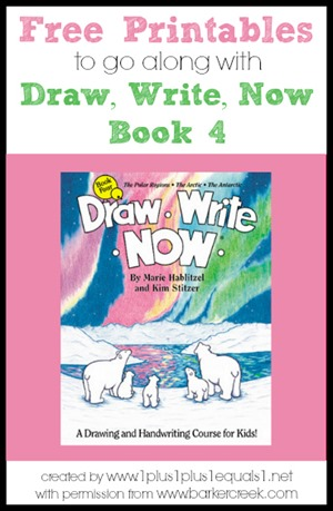 Draw, Write, Now Book 4 Printables