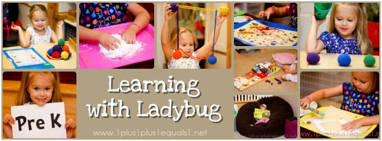 Learning with Ladybug Preschool at Home