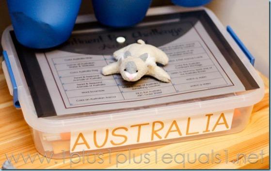 Australia Continent Box -8319