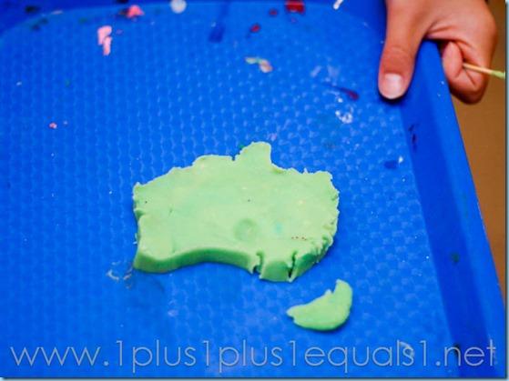Australia Continent Box -8611