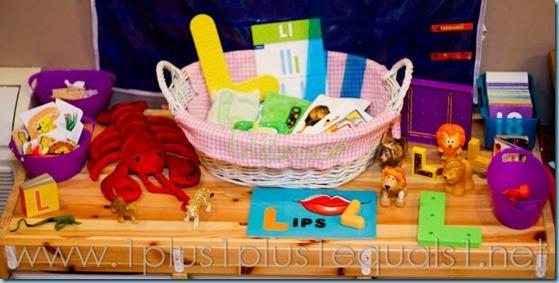 Home Preschool Letter L -6686