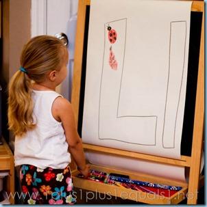 Home Preschool Letter L -6698