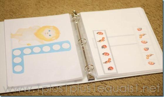 Home Preschool Letter L-7083