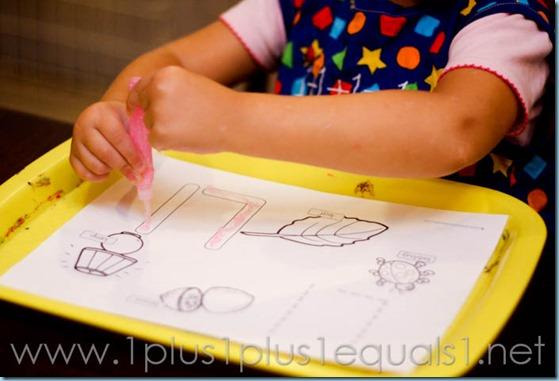 Home Preschool Letter L -7345