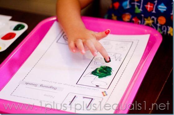 Home Preschool Letter L -7412