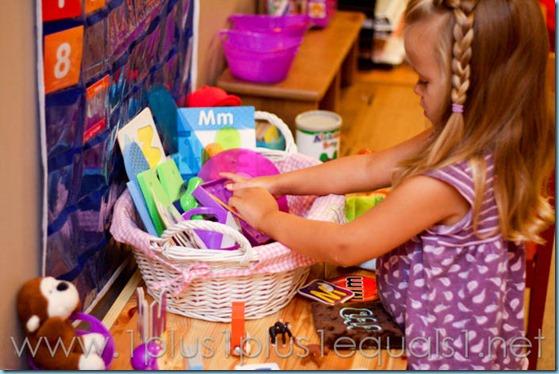 Home Preschool Letter M -8022