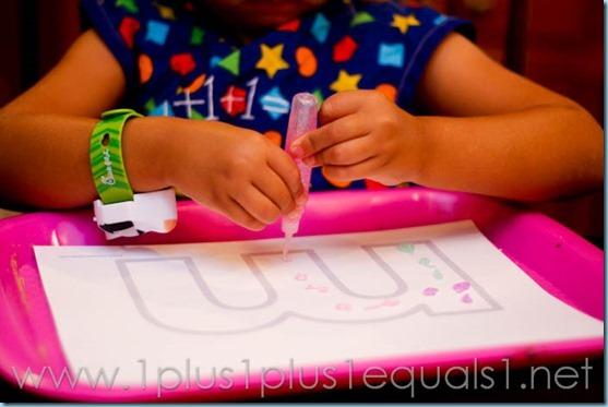 Home Preschool Letter M -8273