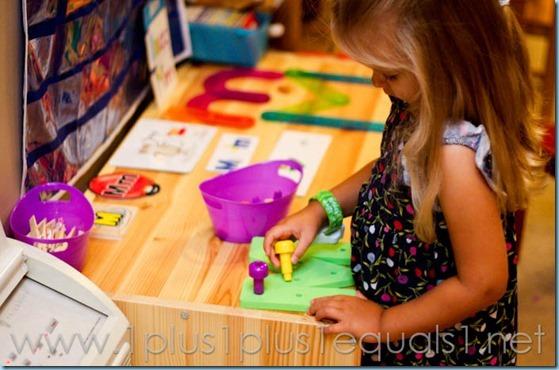 Home Preschool Letter M -8293