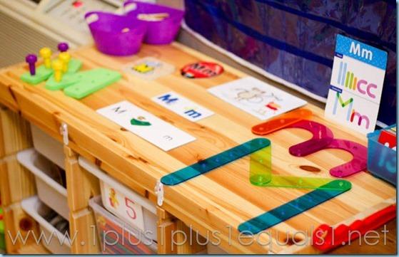 Home Preschool Letter M -8299