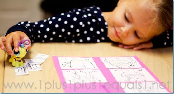 Home Preschool Letter M -8568