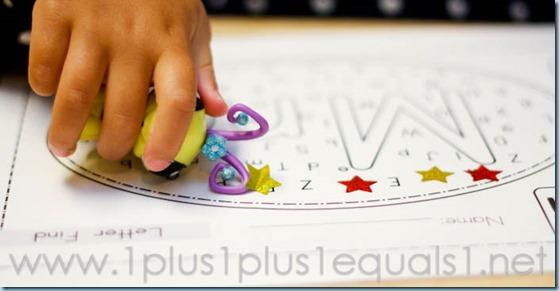 Home Preschool Letter M -8591