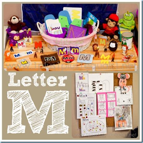Home Preschool Letter M