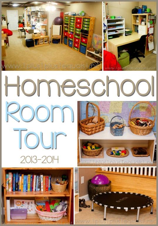 Beautiful Homeschool Room Tour 2013