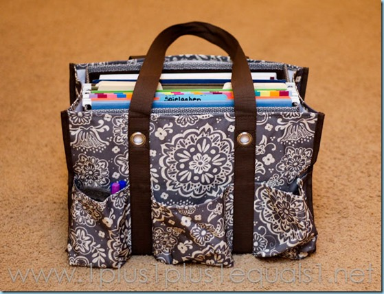 Thirty One Organizing Tote -8243