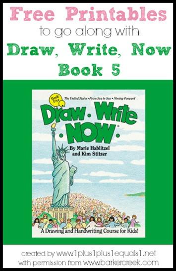Draw, Write, Now Book 5 Printables
