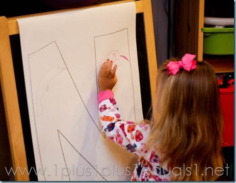 Home Preschool Letter N -8993