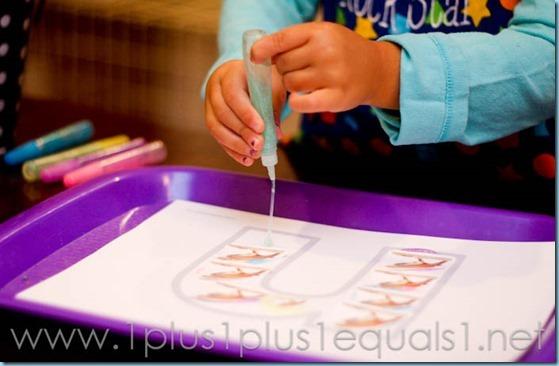 Home Preschool Letter N -9155