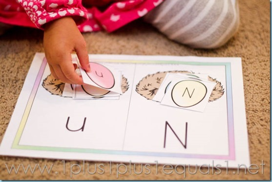 Home Preschool Letter N -9219