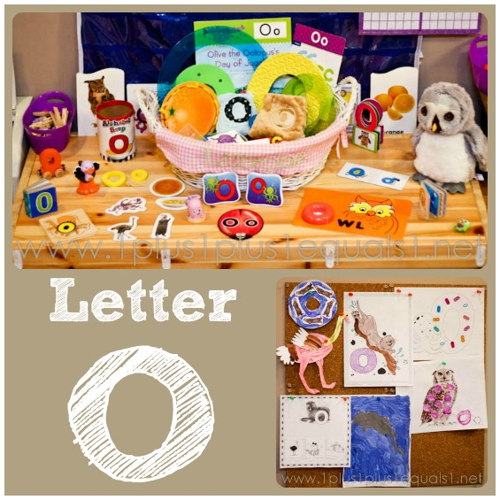 Preschool At Home Letter O 1 1 1 1