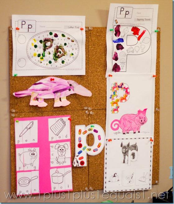 Home Preschool Letter P -0244