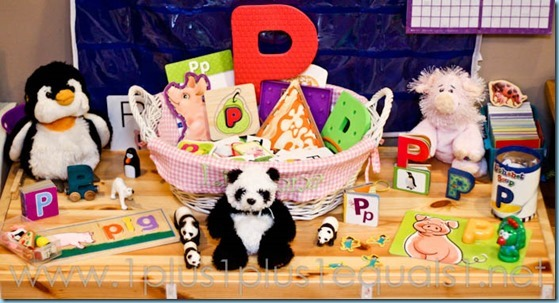 Home Preschool Letter P -9568