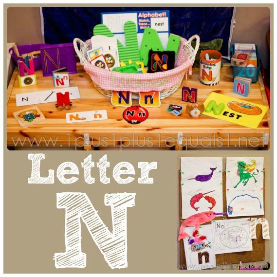 home preschool letter n 1 1 1 1