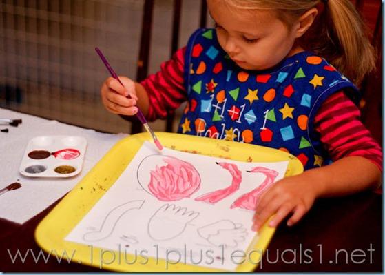 Home Preschool letter o -9467