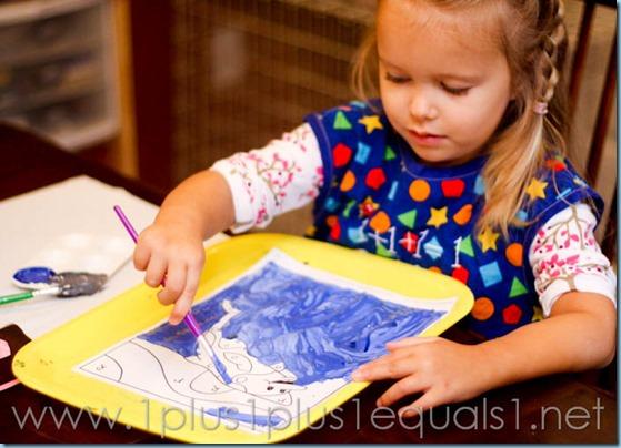 Home Preschool letter o -9528
