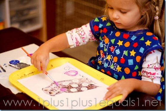 Home Preschool letter o -9530