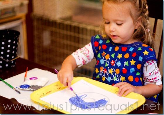 Home Preschool letter o -9532