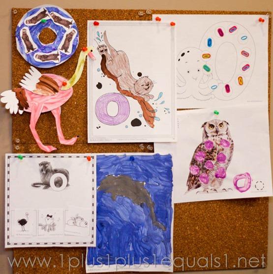Home Preschool letter o -9538