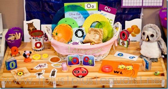 Home preschool Letter O -9342