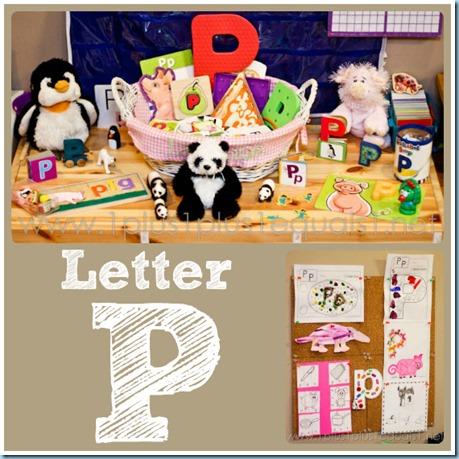 Letter P Home Preschool