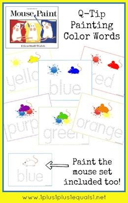 Mouse Paint Preschool Fun 1 1 1 1