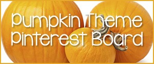Pumpkin Theme Pinterest Board