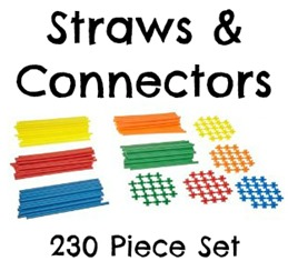 Straws and Connectors 230 piece