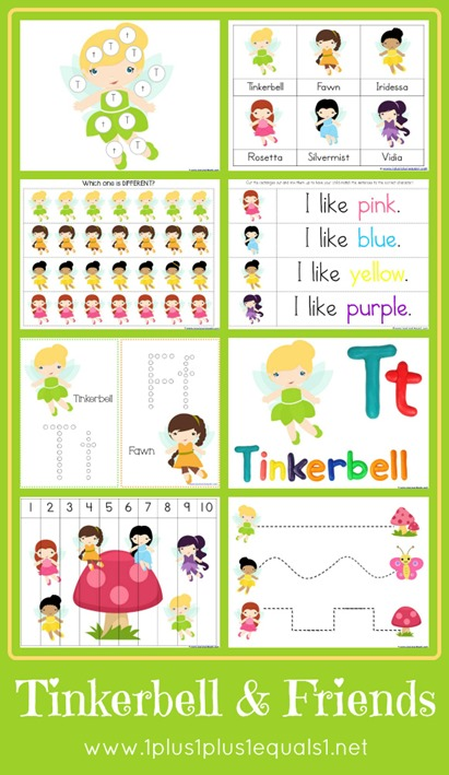 Tinkerbell Printables