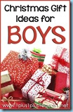 Christmas Gift Ideas for Boys