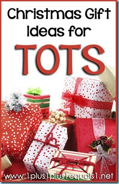 Christmas Gift Ideas for Tots