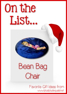 On the List...Bean Bag Chair
