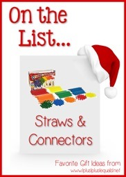 Favorite Gift Idea Straws and Connectors