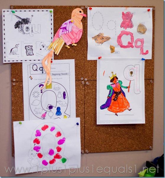Home Preschool Letter Q -0595